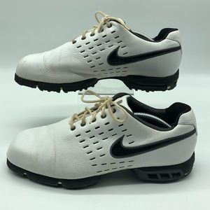 Nike SP-8 Tour Tiger Woods Golf Shoes 10.5W White